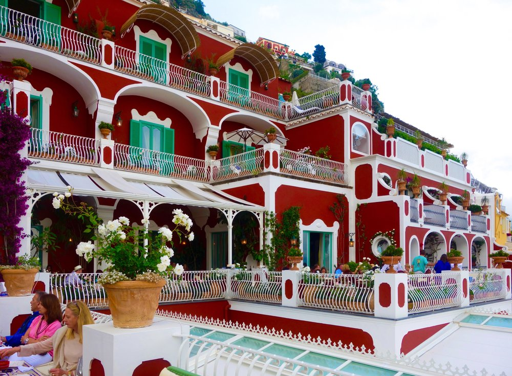 Le Sirenuse Champagne Bar, Positano, Amalfi Coast