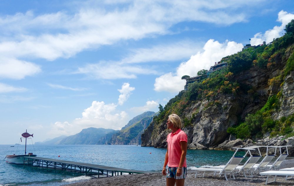 Da Adolfo, Positano, Amalfi Coast