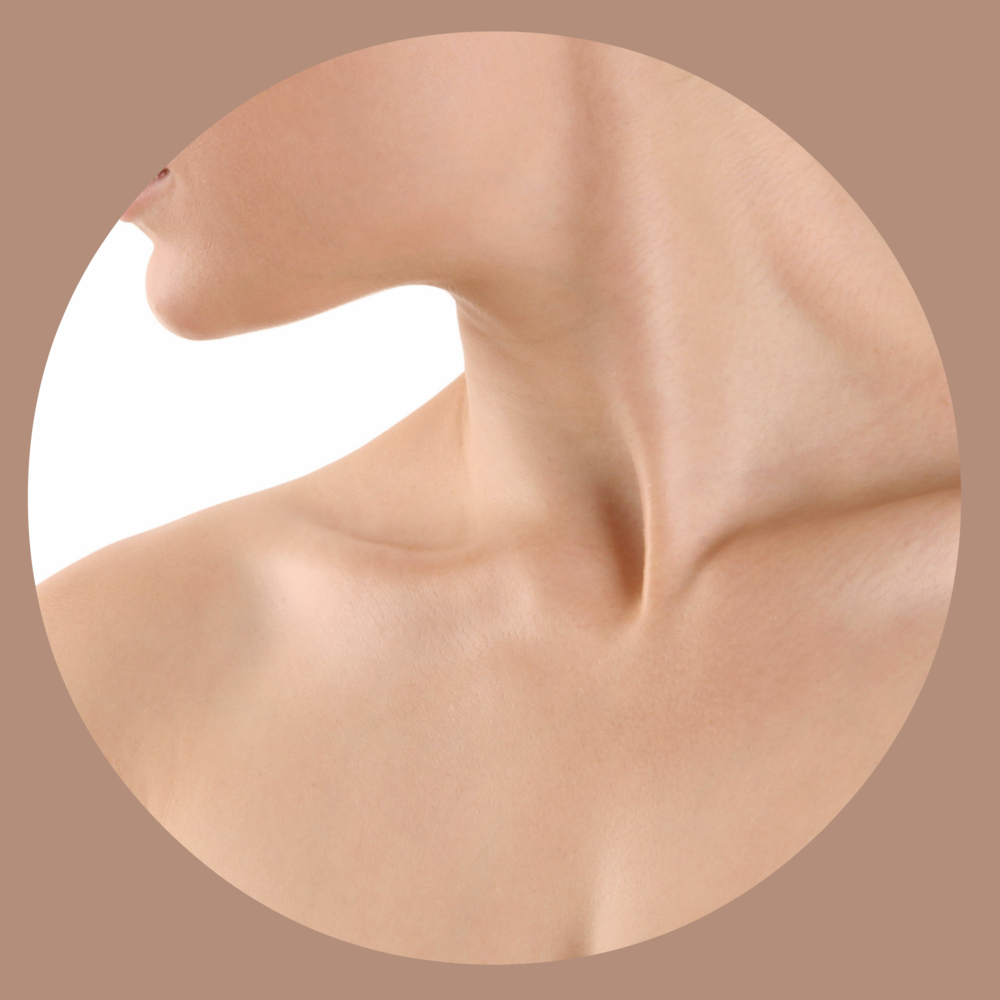 sex a peel for the  neck and chest