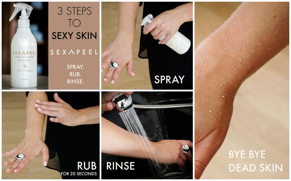 Instant Exfoliating Spray Sex A Peel
