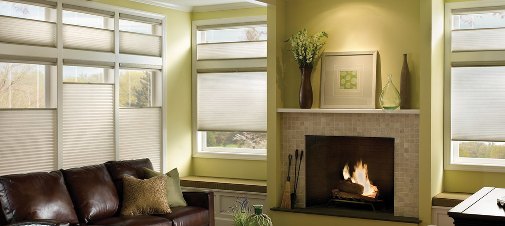 APPLAUSE HONEYCOMB SHADES    With energy efficient, triple cell-construction, the Applause Honeycomb Window Shades are both affordable and attractive! Customize your honeycomb shades with colors, fabrics and styles that match your home decor. Find out more by clicking on the photo.