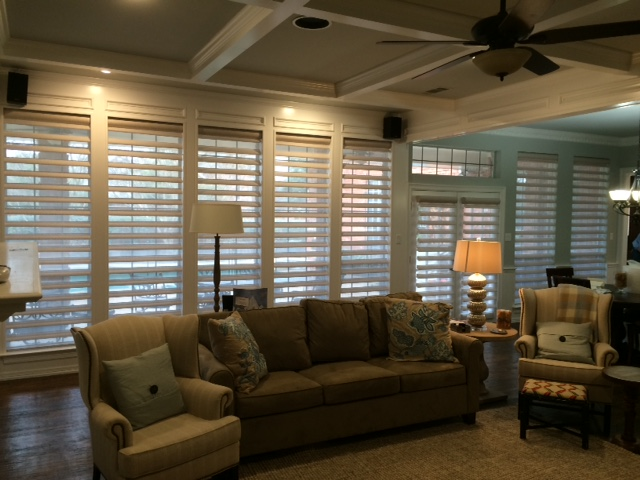 MOTORIZED PIROUETTE SHADES IN PLANO, TX