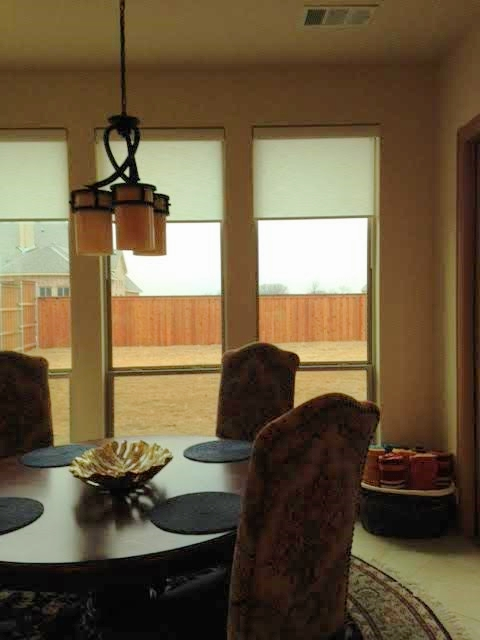 DESIGNER ROLLER SHADES IN FRISCO, TX