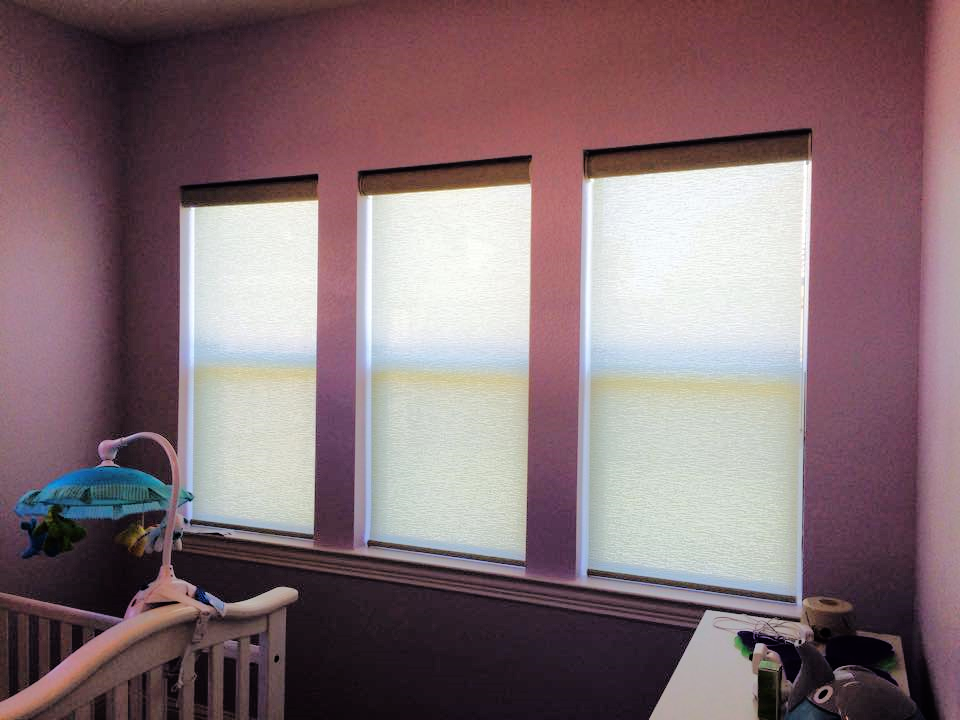 DESIGNER ROLLER SHADES IN DENTON, TX