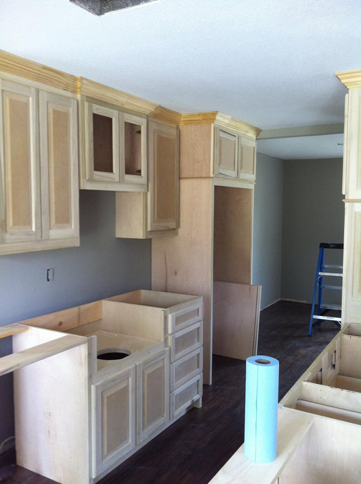 BEFORE PHOTO - HOME IN DALLAS KITCHEN REMODEL