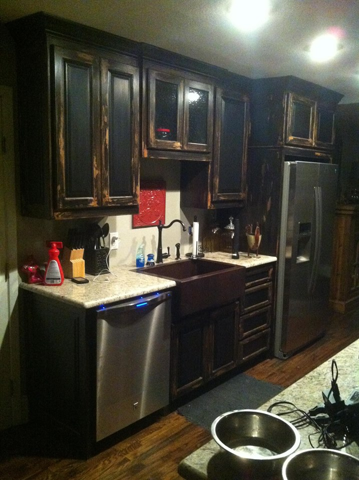 AFTER PHOTO - HOME IN DALLAS KITCHEN REMODEL