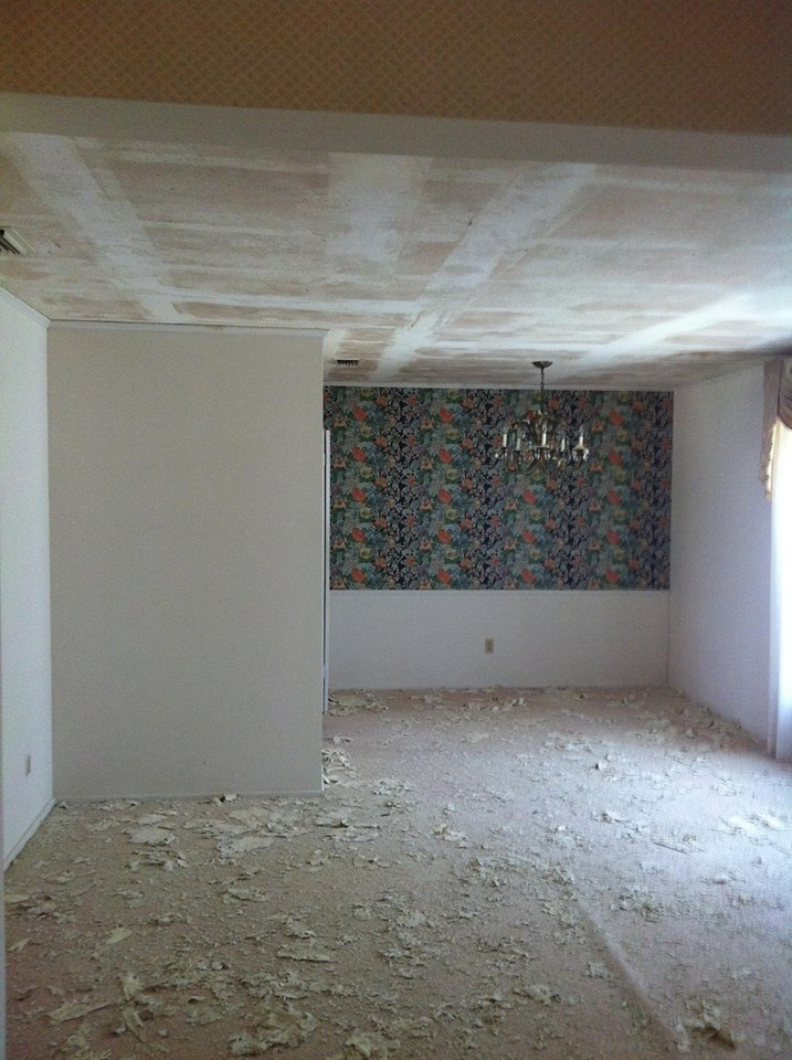 BEFORE PHOTO - HOME IN DALLAS REMODEL