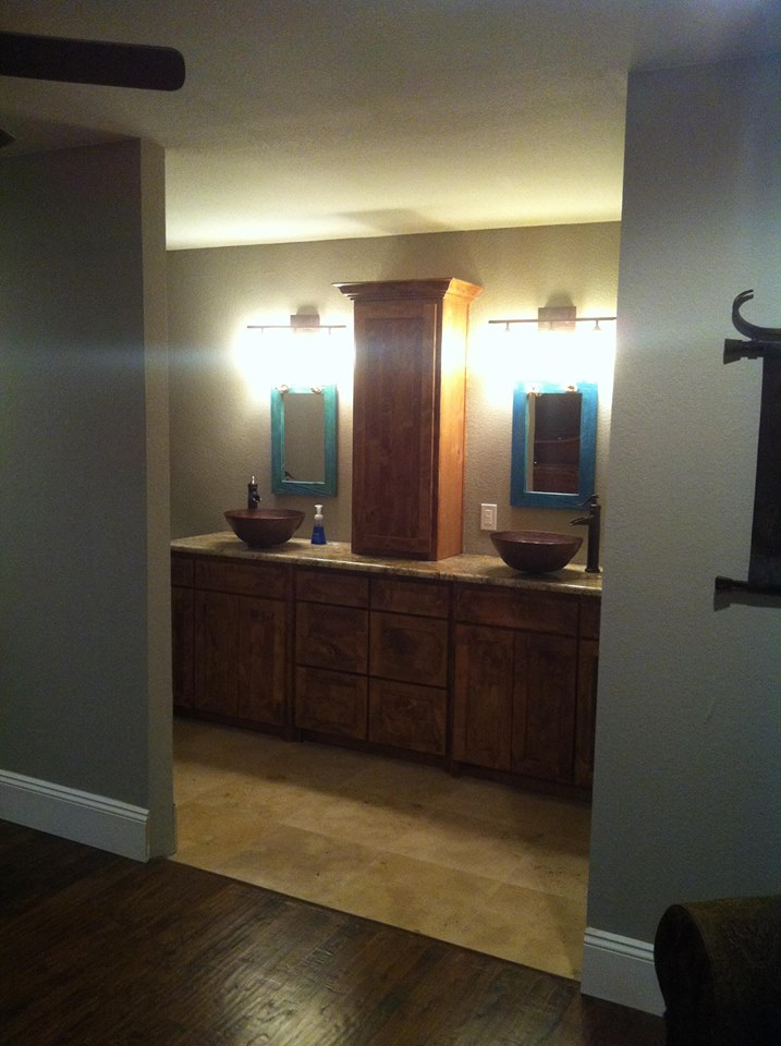 AFTER PHOTO - HOME IN DALLAS BATHROOM REMODEL