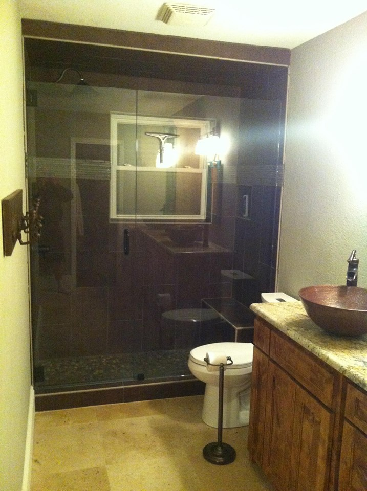 AFTER PHOTO - MASTER SHOWER REMODEL