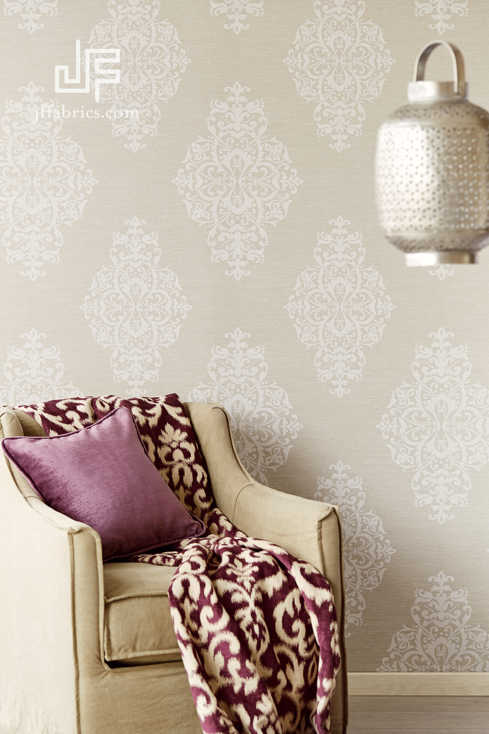 WALLPAPER FROM JF FABRICS