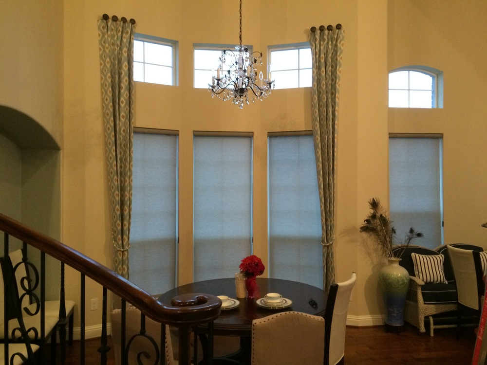 CUSTOM DRAPERY PANELS IN SOUTHLAKE, TX