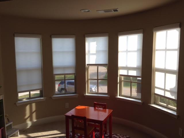 DESIGNER ROLLER SHADES IN COPPELL, TX