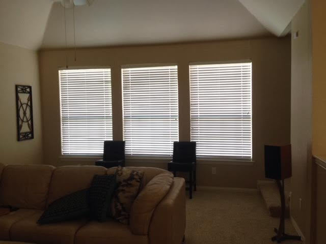 WOOD BLINDS IN LEWISVILLE, TX