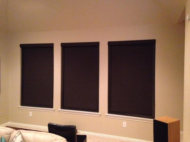 DESIGNER ROLLER SHADES WITH BLOCKOUT SYSTEM IN COPPELL, TX