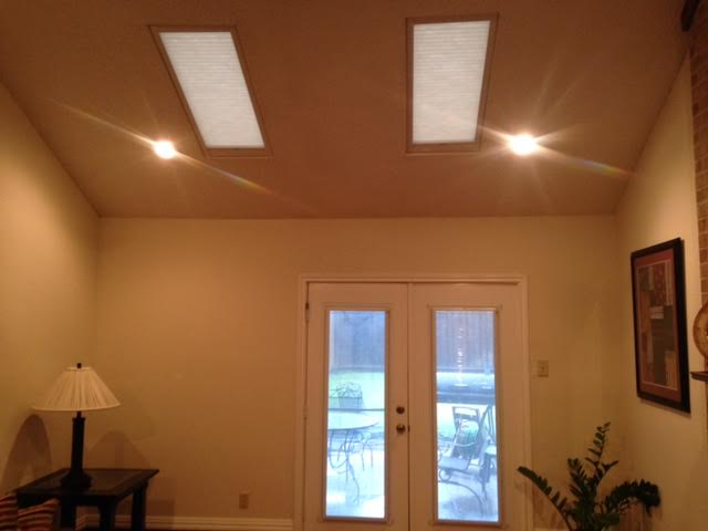 SKYLIGHT WITH MOTORIZED SYSTEM IN CARROLLTON, TX