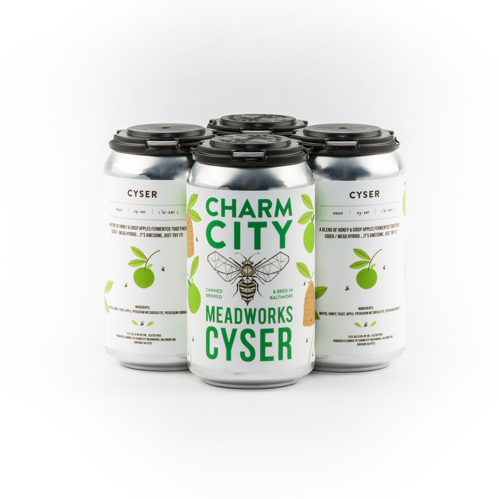 Cyser Cider Mead Hybrid Light Dry Refreshing