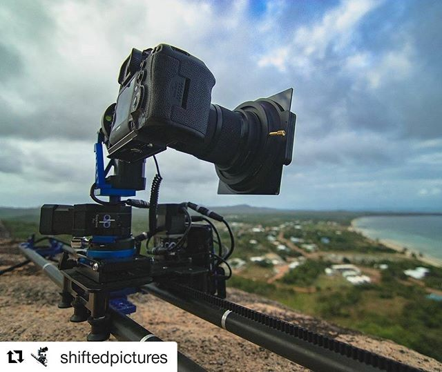 Sapphire Pro and Stage One on Badu island via @shiftedpictures (@get_repost) ・・・ #dynamicperception #motioncontrol #timelapse