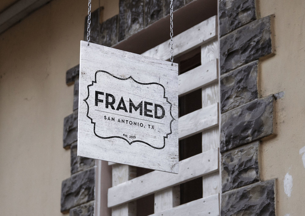 Framed San Antonio