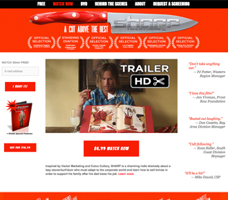 Click to enter website Sharp-TheMovie.com