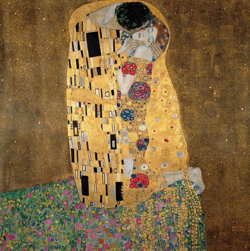 Dur Kuss, Gustav Klimt