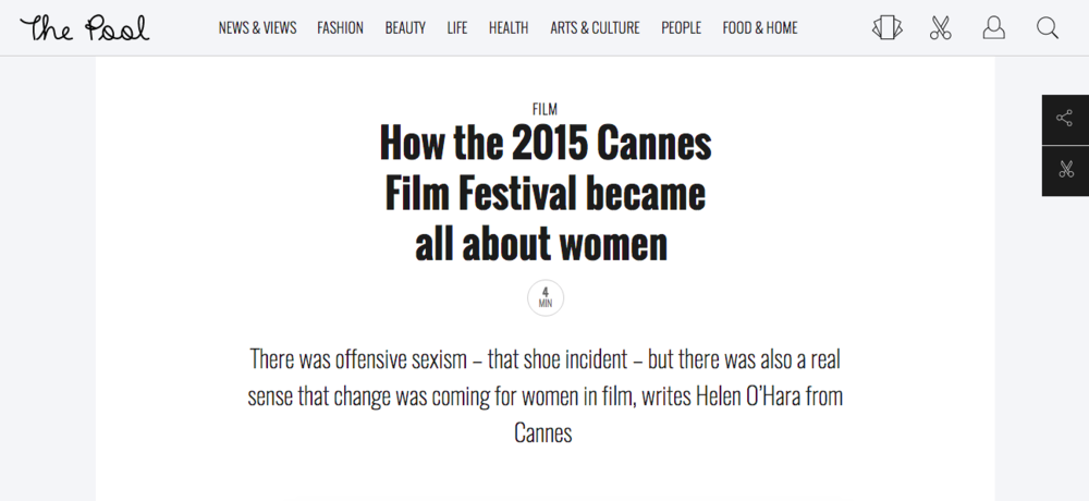 Cannes Panel: Women In Film