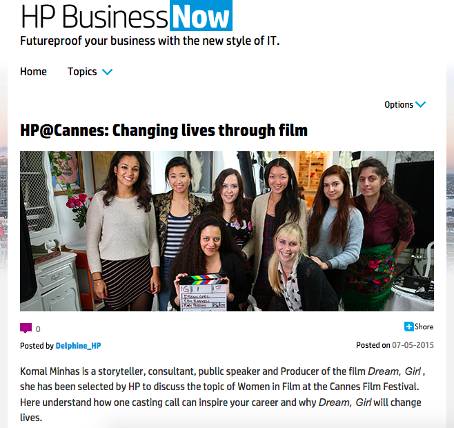 Cannes Q&A: HP Women In Film Panel