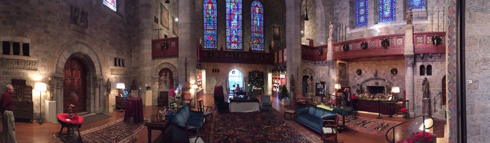Installation and World Nativities Exhibition participant for 2016 at Glencairn Museum, Bryn Athyn PA