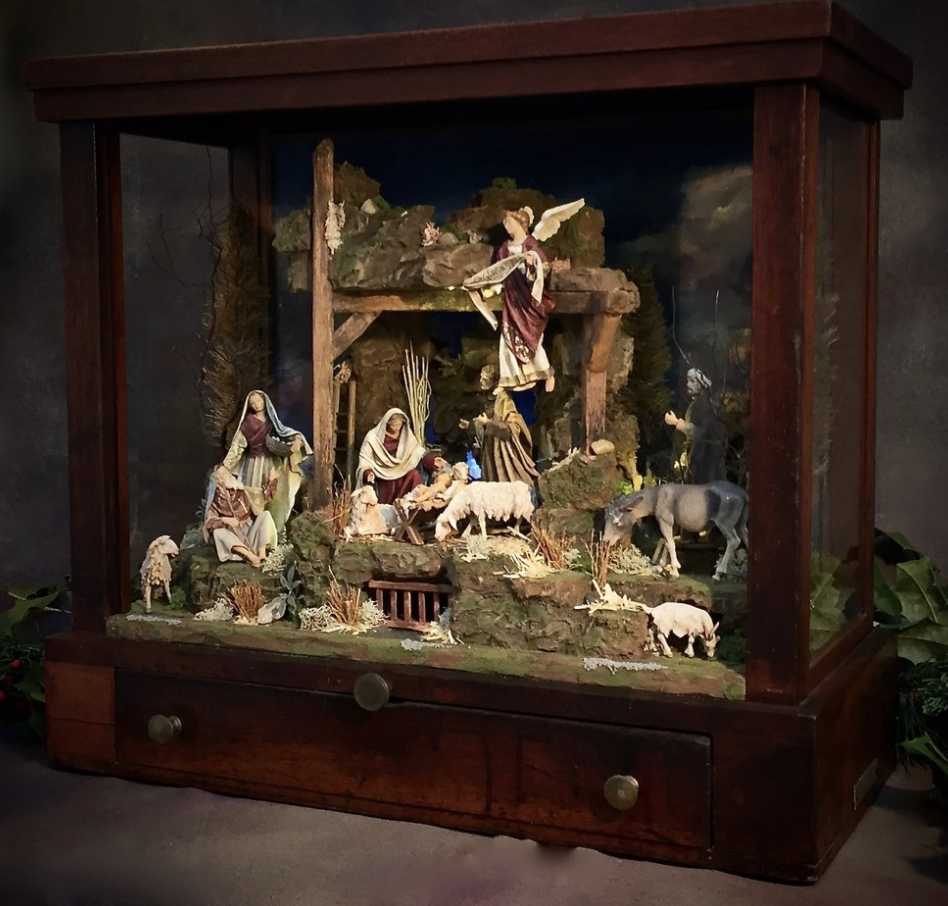 The Antique Assisi Creche