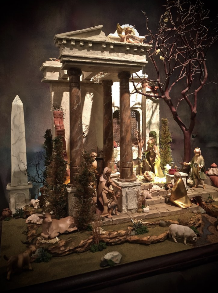 The Roman Forum Nativity