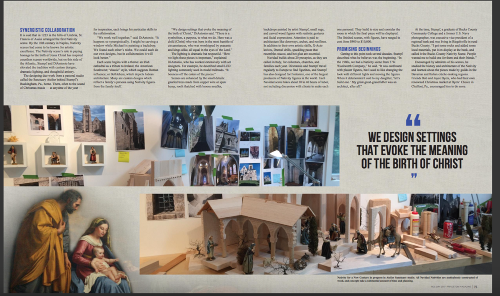 6 page article Princeton Magazine and Urban Agenda