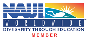 """Click on the NAUI logo to visit the official site"""