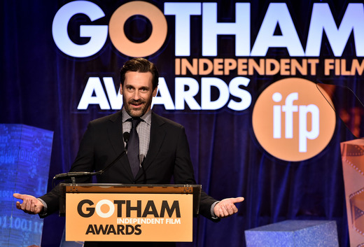Jon Hamm at the 2014 Gotham Independent Film Awards in New York City.