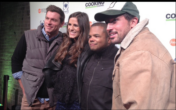 Cooking Channel personalities at the New York Food & Wine Festival.