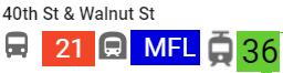 Transit: Bus, Septa, Trolley