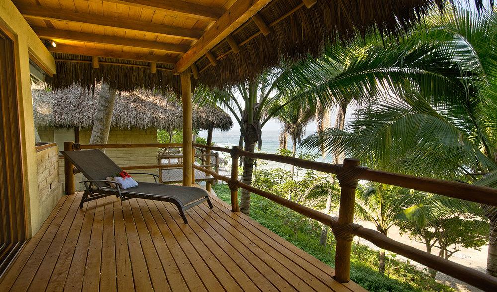 Punta Moterrey en Riviera Nayarit, México.