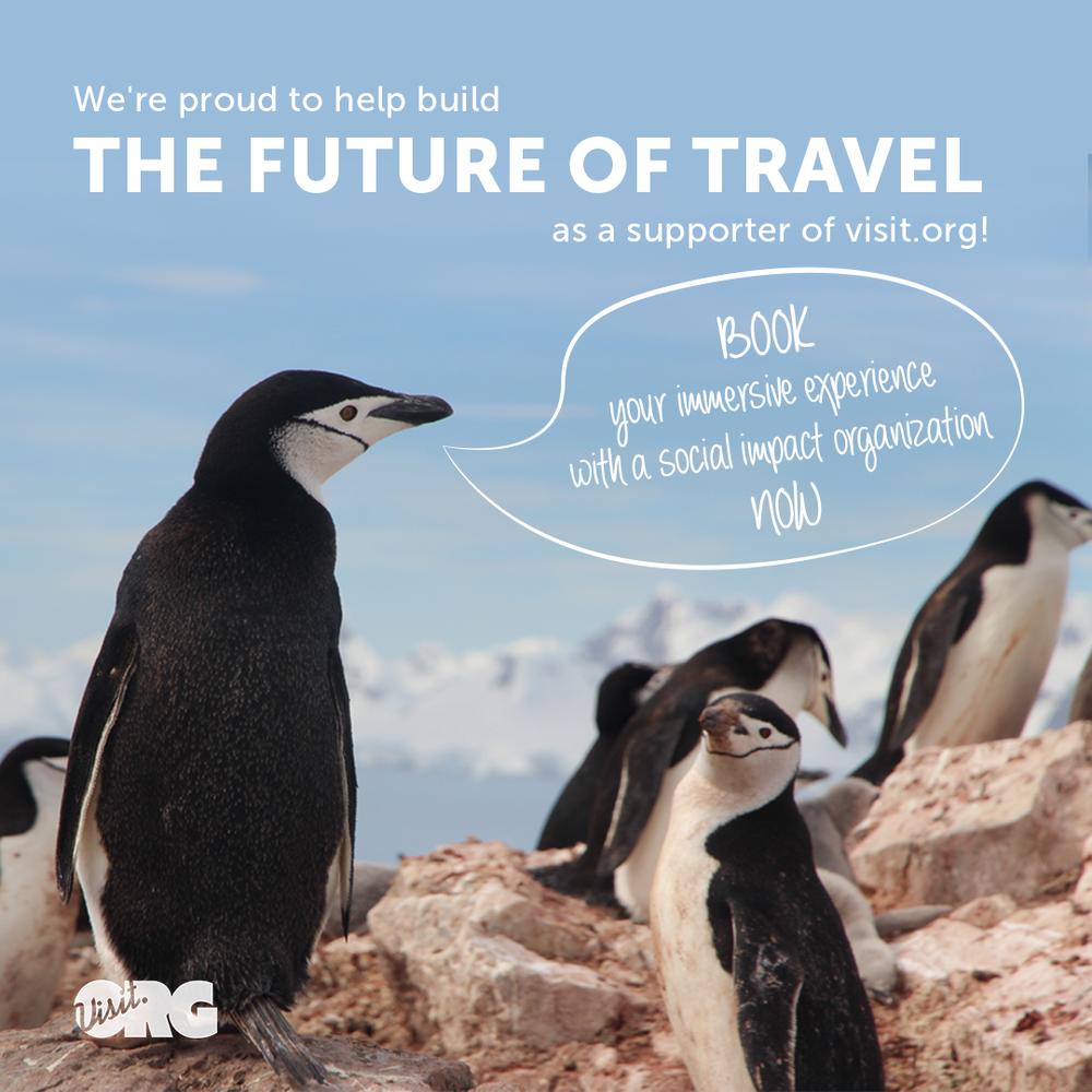 Viajes con sentido, una razón para viajar mientras impactas al mundo de manera positiva.