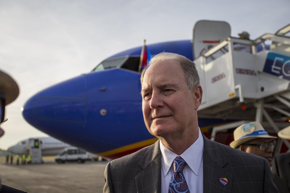 Gary Kelly, presidente del Consejo, presidente y CEO de Southwest Airlines.