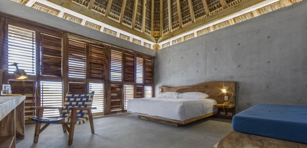 Interior Habitación Casa Wabi