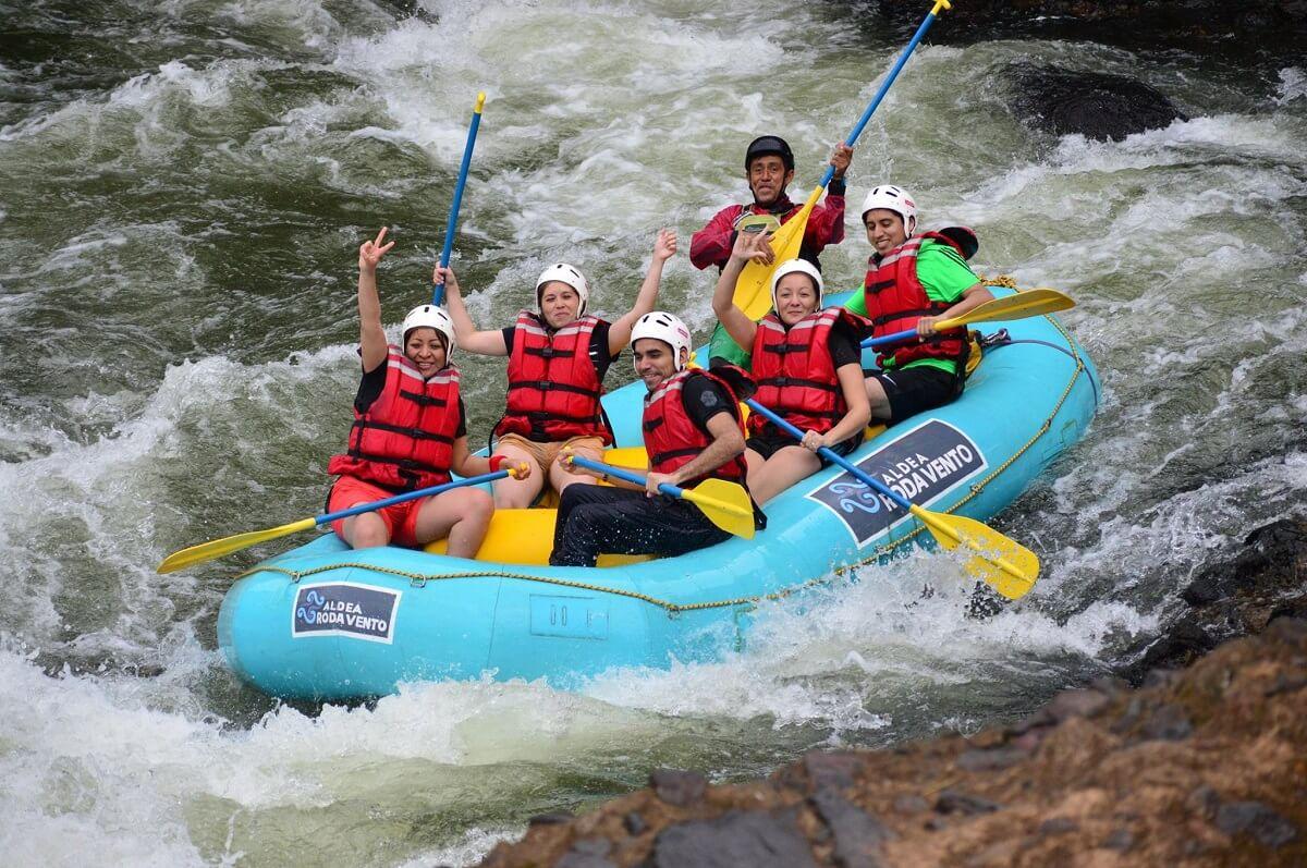 Rafting en el Río Filo Bobos en Veracruz, México