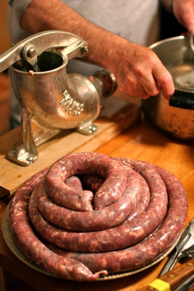 grumpy sausage