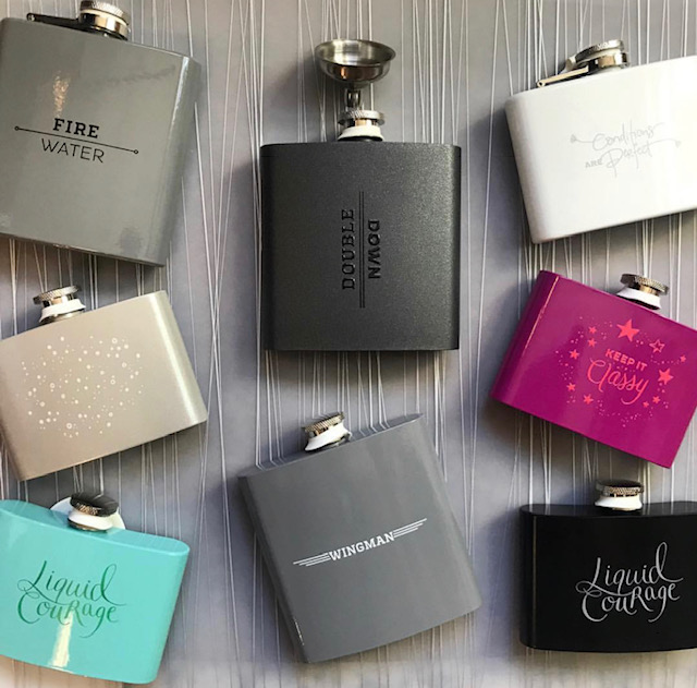 Festive Flasks