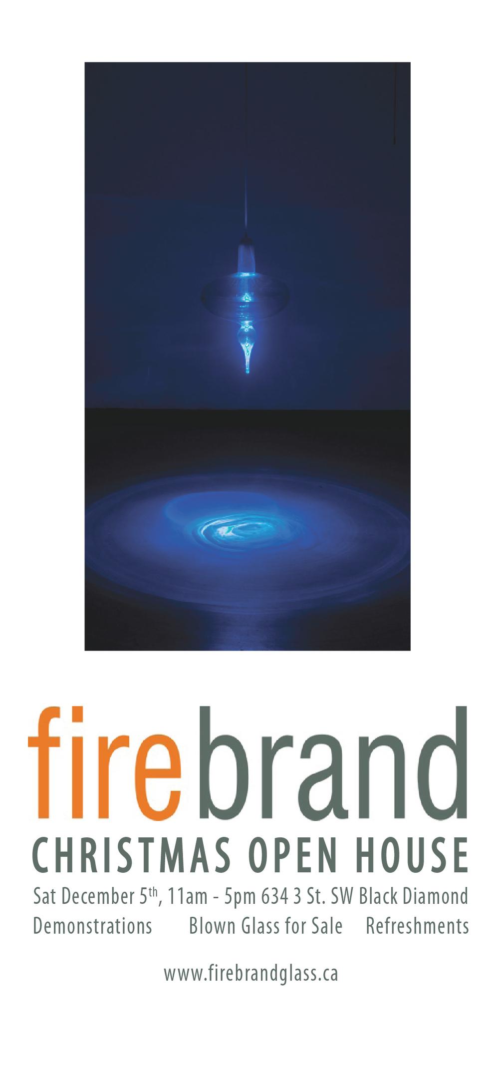 Christmas Gifts and Cheer — Firebrand Glass Studio