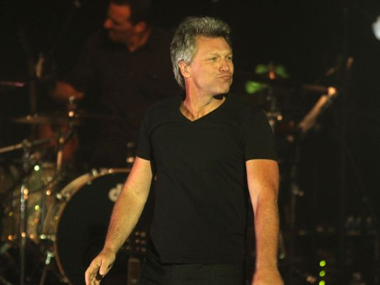 Jon Bon Jovi Count Basie Theater Red Bank, New Jersey 2015
