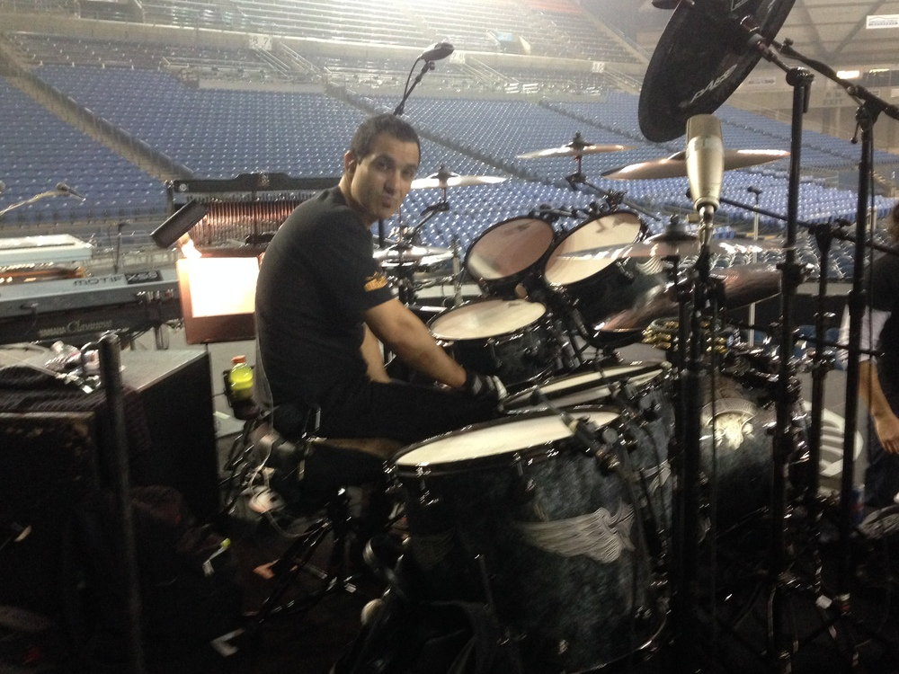 Sound check Tacoma Dome-Tacoma Washington 2013