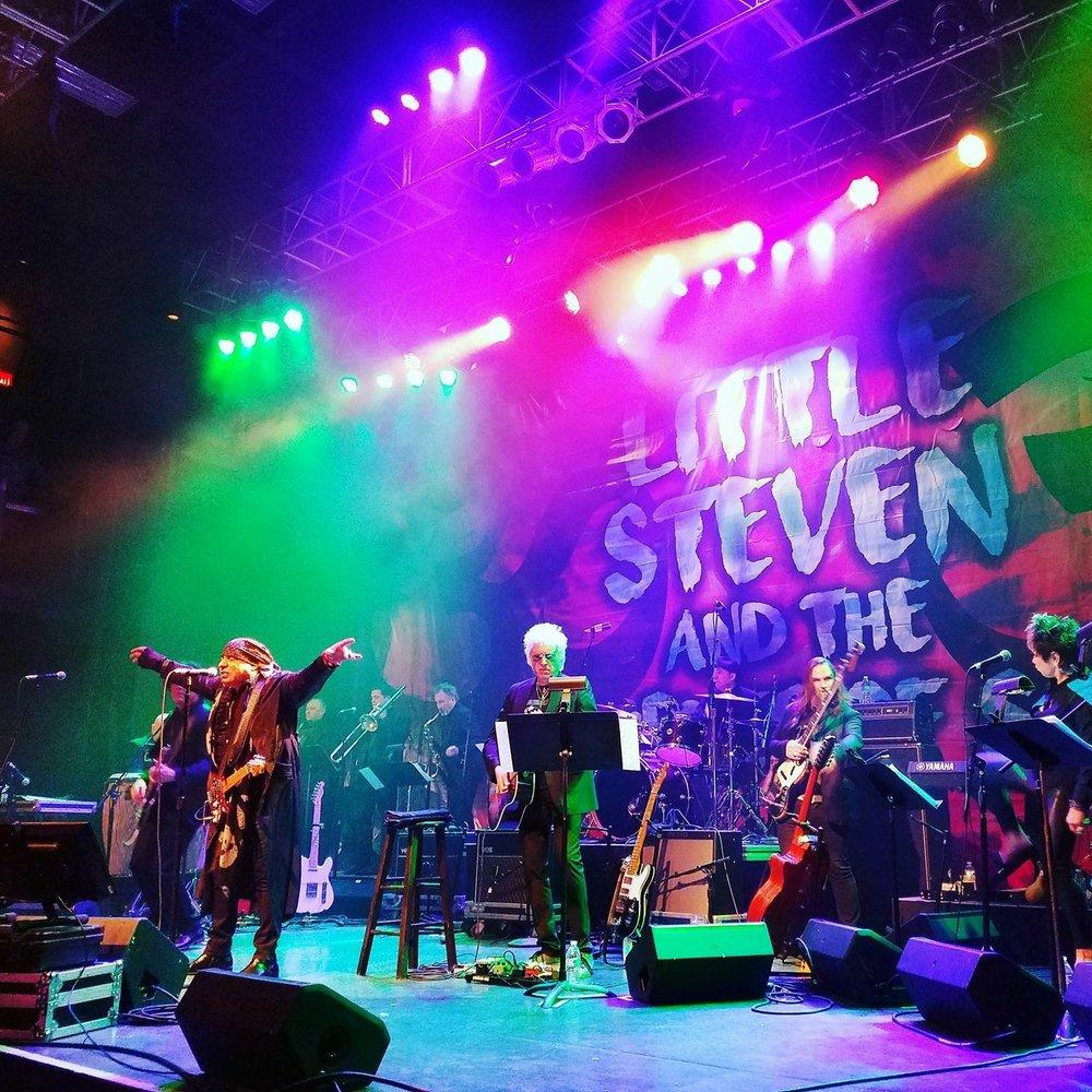 Steven Van Zandt Fillmore Silver Springs, Maryland 2017