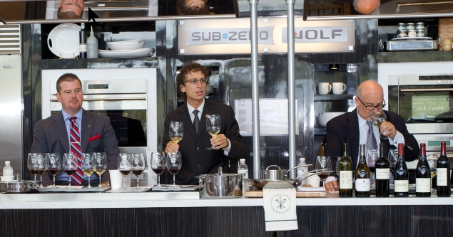 WIne Food Festival Judging Presenters Sommelier Presentation Wine Seminars