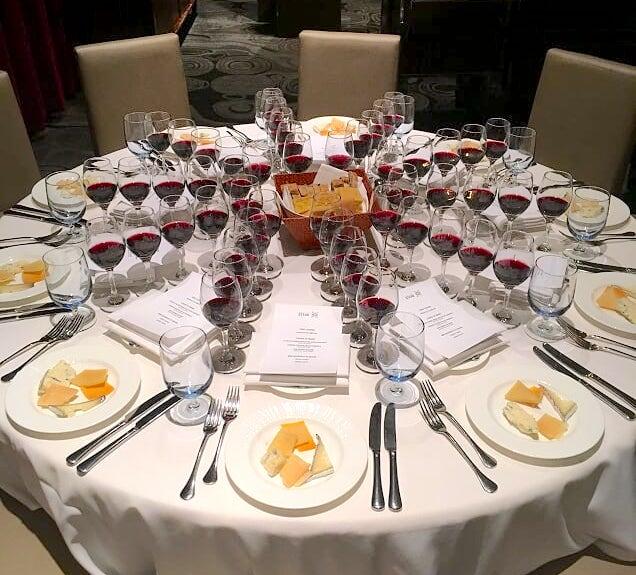 Multi Course Wine tasting Dinner Pairing