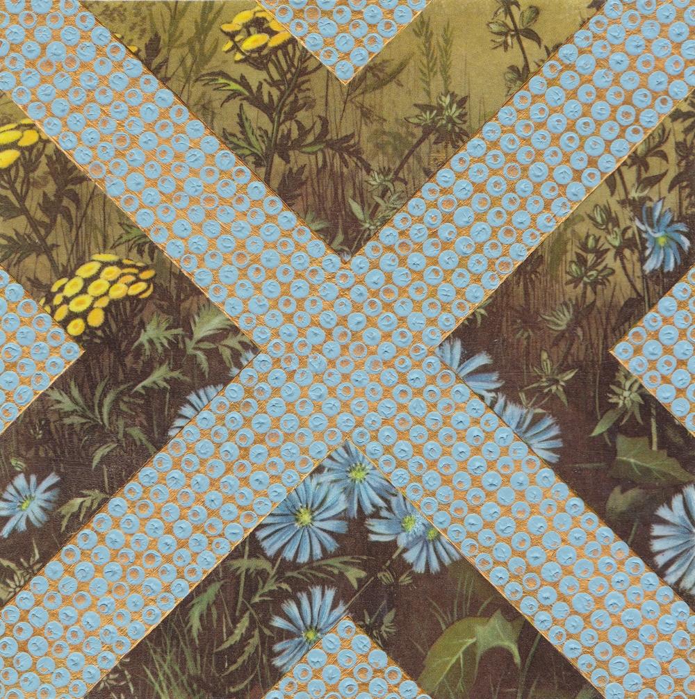 Blue Flowers 12x12cm £100