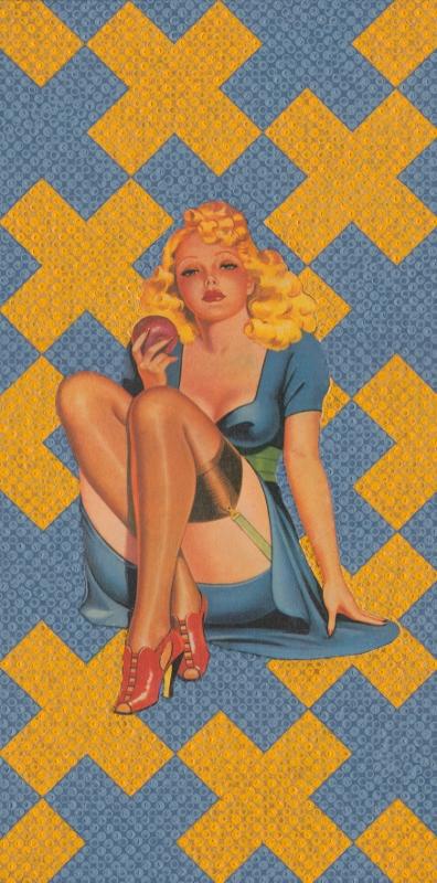 Goldie 15x30cm SOLD