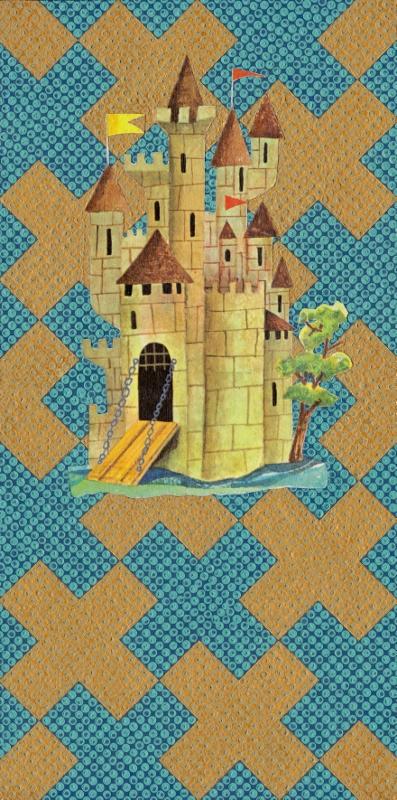 Castle 15x30cm £300